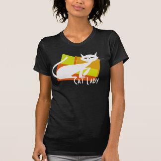 Madame Cat T-shirt de chat