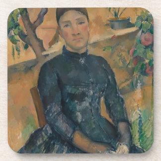 Madame Cézanne (Hortense Fiquet, 1850–1922) Coaster
