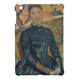 Madame Cézanne (Hortense Fiquet, 1850–1922) Cover For The iPad Mini