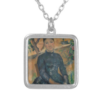 Madame Cézanne (Hortense Fiquet, 1850–1922) Silver Plated Necklace