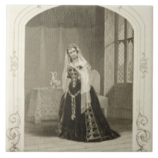 Madame Celeste as the Princess Katherine, Act V Sc Tile
