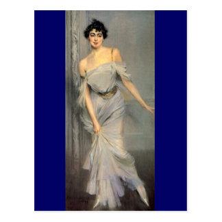 Madame Charles Max - Boldini Postcard