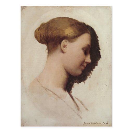 Madame Clément Boulanger de Jean Auguste Ingres- Carte Postale