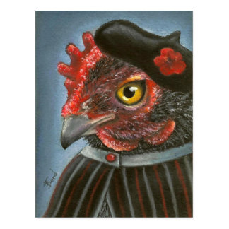 Madame Coco Postcard