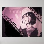 Madame de cabaret affiches