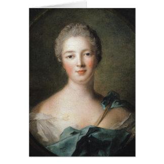 Madame de Pompadour  1748 Card
