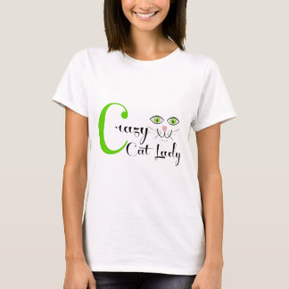 Madame folle de chat ! t-shirt