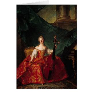 Madame Henriette de France  in Court Card