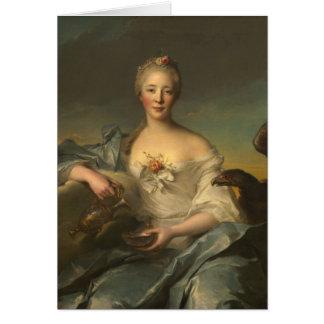 Madame Le Fèvre de Caumartin as Hebe Card