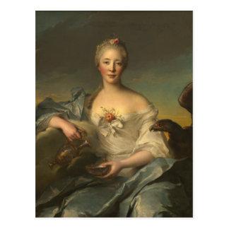 Madame Le Fèvre de Caumartin as Hebe Postcard