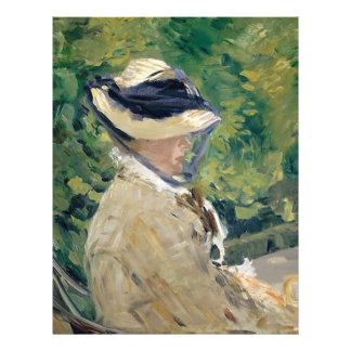Madame Manet (Suzanne Leenhoff, 1830–1906) Letterhead