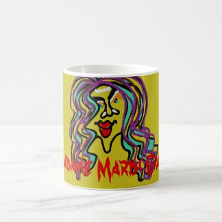 Madame Mardi Gras! LIGHTER OLIVE MUG! Coffee Mug