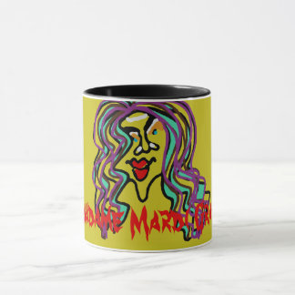 Madame Mardi Gras! LIGHTER OLIVE MUG! Mug