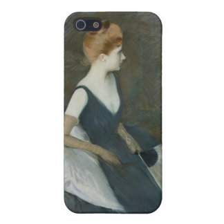 Madame Marthe Letellier Sitting on a Sofa Case For The iPhone 5