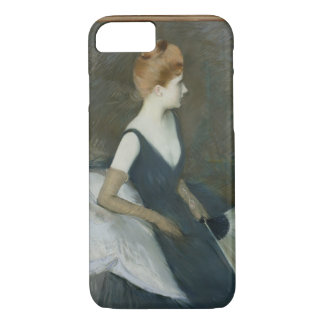 Madame Marthe Letellier Sitting on a Sofa iPhone 7 Case