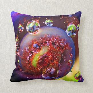 Madame Pele/ Kupu Kupu Fern Throw Pillow