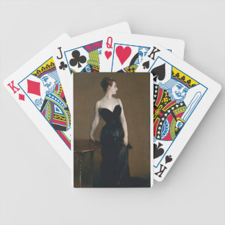Madame Pierre Gautreau (Madame X) Bicycle Playing Cards