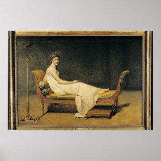Madame Recamier, 1800 Poster