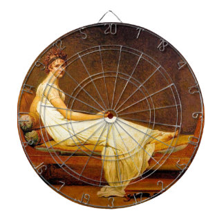 Madame Recamier Painting Dartboard