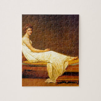 Madame Recamier Painting Jigsaw Puzzle
