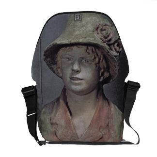 Madame Renoir, 1916 (polychrome plaster) Courier Bags