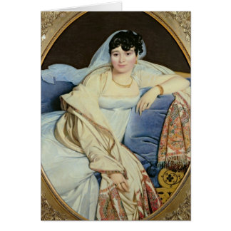 Madame Riviere nee Marie Francoise Jacquette Card