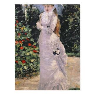 Madame Valtesse de la Bigne, 1889 Postcard