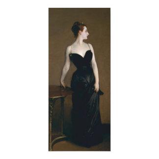 "Madame X by John Singer Sargent 4"" X 9.25"" Invitation Card"