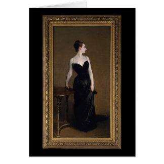 Madame X by John Singer Sargent Greeting Card