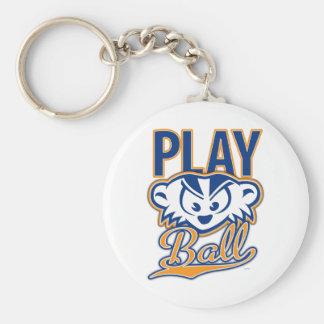 MadBadger PLAY BALL Keychain