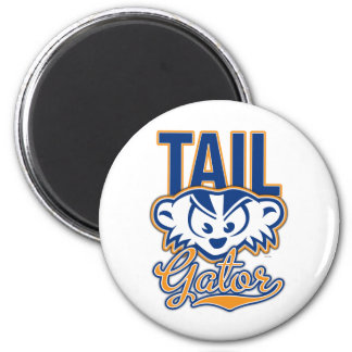 MadBadger TAILgator BLUE 2 Inch Round Magnet