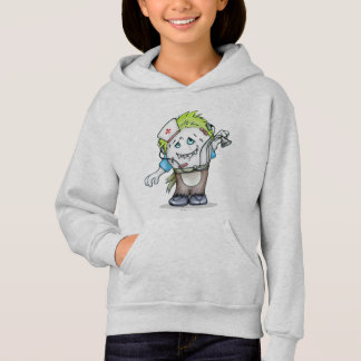 MADDI ALIEN MONSTER CARTOON Hoodie Girl ASH