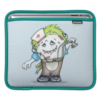MADDI ALIEN MONSTER CARTOON iPad HORIZONTAL iPad Sleeve