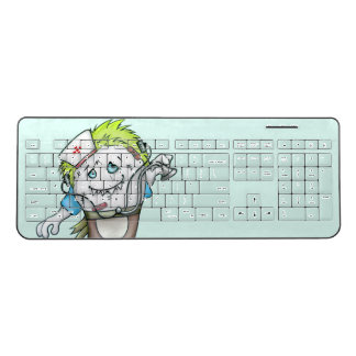 MADDI DOCTOR ALIEN  Custom Wireless Keyboard 2