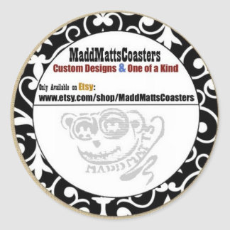 MaddMattsCoasters Sticker