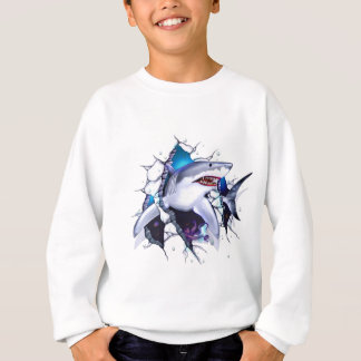 Maddmax Great White Shark Logo Sweatshirt