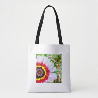 Maddy's Secret Garden Painted Daisy Tote Bag
