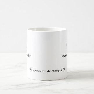 Made By 1-Stitch Productions Classic White Coffee Mug