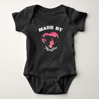 Made By MomFire Infant Bodysuit- Dark Baby Bodysuit