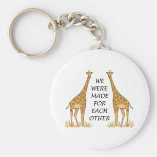 MADE FOR EACH OTHER KEY CHAIN