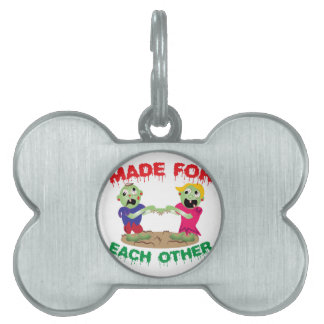Made For Each Other Pet Tags