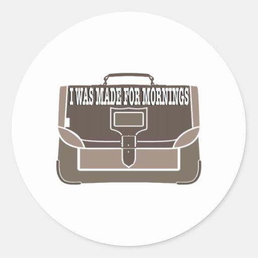 Made for Mornings Sticker