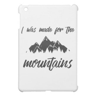 Made For The Mountains iPad Mini Case B/W