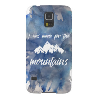 Made For The Mountains Watercolor Samsung Case