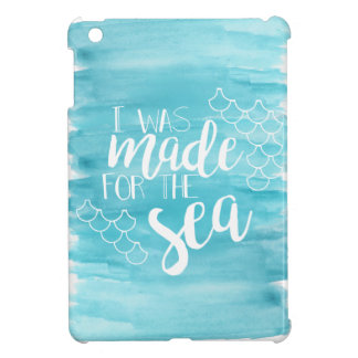 Made For The Sea Watercolor iPad Case