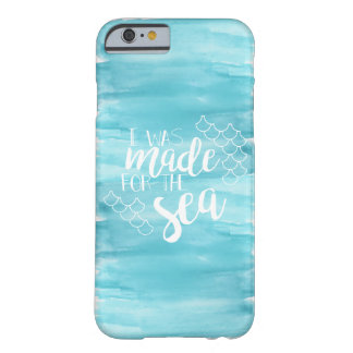 Made For The Sea Watercolor iPhone Case