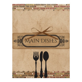 Made From Scratch Recipe Dividers Letterhead
