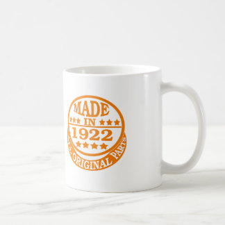 Made in 1922 all original parts coffee mugs