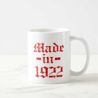 Made in 1922 designs coffee mug