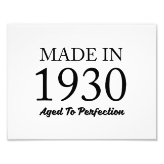 Made In 1930 Photograph